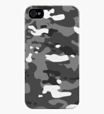 Military Camouflage: Urban II iPhone 4s/4 Case