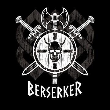 Viking Berserker Fierce Norse wild warrior by Glimmersmith