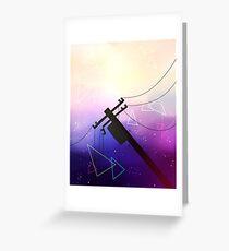 Telephone Sky Greeting Card