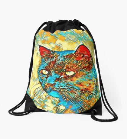 Catus Drawstring Bag