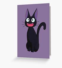 Kiki's Delivery Service Jiji-Studio Ghibli Greeting Card