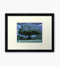 My Neighbor Totoro Tree-Studio Ghibli Framed Print