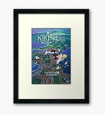 Kiki's Delivery Service-Studio Ghibli Framed Print