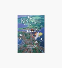 Kiki's Delivery Service-Studio Ghibli Art Board