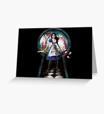 Alice: Madness Returns Greeting Card