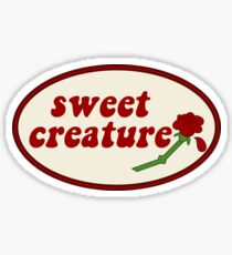 Sweet Creature Rose Design Sticker