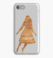 Miss Peregrine's Home for Peculiar Children iPhone Case/Skin