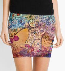 indie elephant Mini Skirt