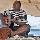 Fijian Musician by Margaret Stevens