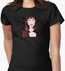Nyree Headshot Painting Womens Fitted T-Shirt