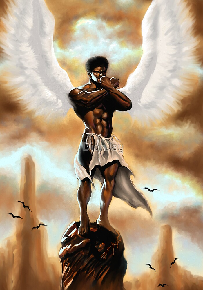 ANGEL OF MEDITATION by DionJay