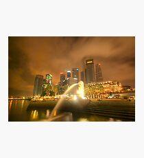 Singapore City Photographic Print