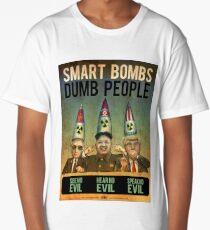 Smart Bombs - Dumb People Long T-Shirt