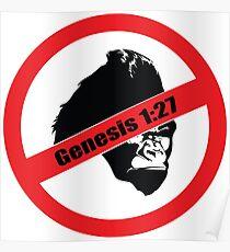 Genesis 1:27 Poster