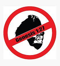 Genesis 1:27 Photographic Print