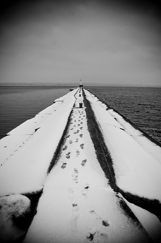 Petoskey Winter II by Justin Leveque