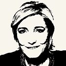 Marine Le Pen  by Albert