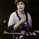 Lucy Burns 1913 by Loredana Crupi