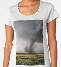 Tornado On The Ground Women's Premium T-Shirt