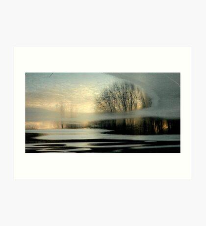 Twilight Chill Art Print