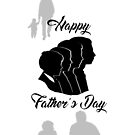Generational Father's Day Card by Daniel Lucas