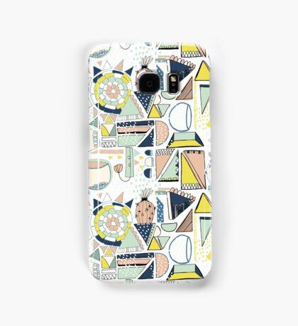 modern cactus pop art Samsung Galaxy Case/Skin