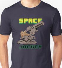 Space Jockey 8 bit Pixels Unisex T-Shirt