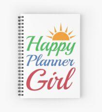 Happy Planner Girl Spiral Notebook