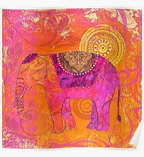 Happy Elephant II Poster