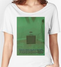 Late Night Videogames Women's Relaxed Fit T-Shirt