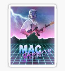 Mac Demarco 80's aesthetic T-shirt Sticker