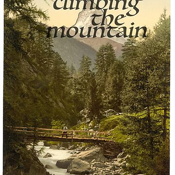 Keep Climbing the Mountain by CuppaJoeKoffee
