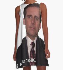 Michael Scott - I am Dead Inside A-Line Dress