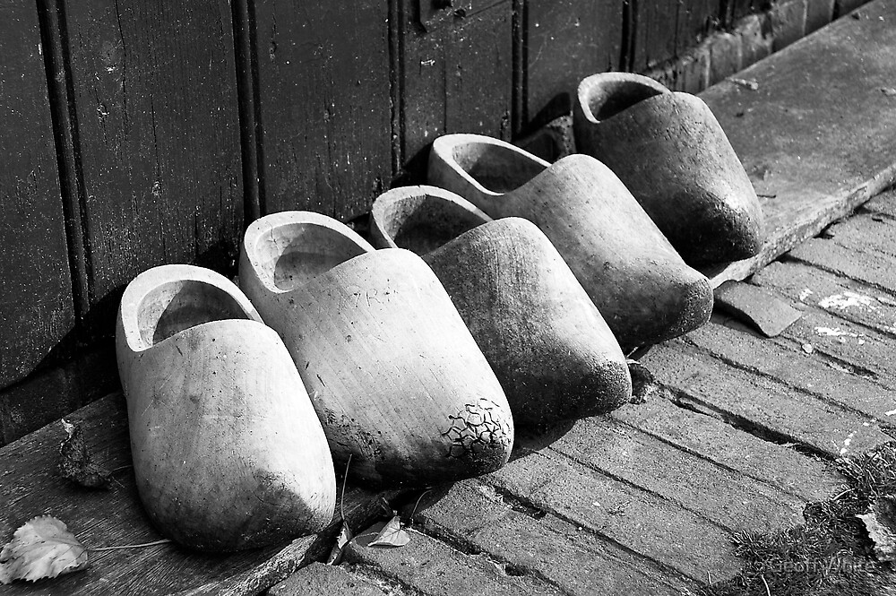 Clogs by Geoff White