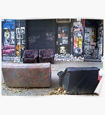 Berlin scene Poster