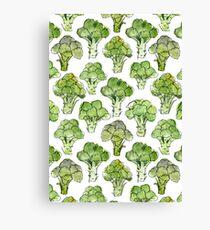Broccoli - Formal Canvas Print