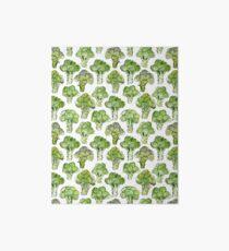 Broccoli - Formal Art Board Print
