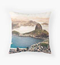 Rio de Janeiro Brazil Throw Pillow