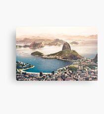 Rio de Janeiro Brazil Metal Print