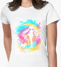 Happy Guardian Sailor Moon Women's Fitted T-Shirt