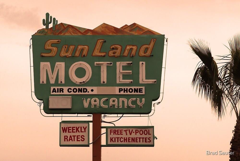 Sunland Motel by Brad Sauter
