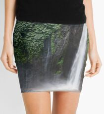 Munduk Indonesia. Red coral waterfall. Mini Skirt