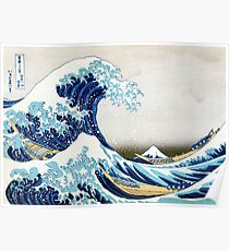 The Great Wave of Kanagawa Poster