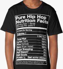 Pure Hip Hop Nutrition Facts Long T-Shirt