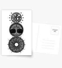 EP. MOON / LIFE / SUN Postcards