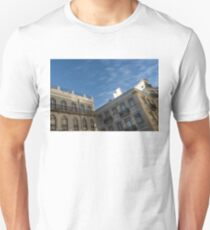 Lisbon Architecture - Glossy Azulejo Tiles and Wrought Iron Unisex T-Shirt