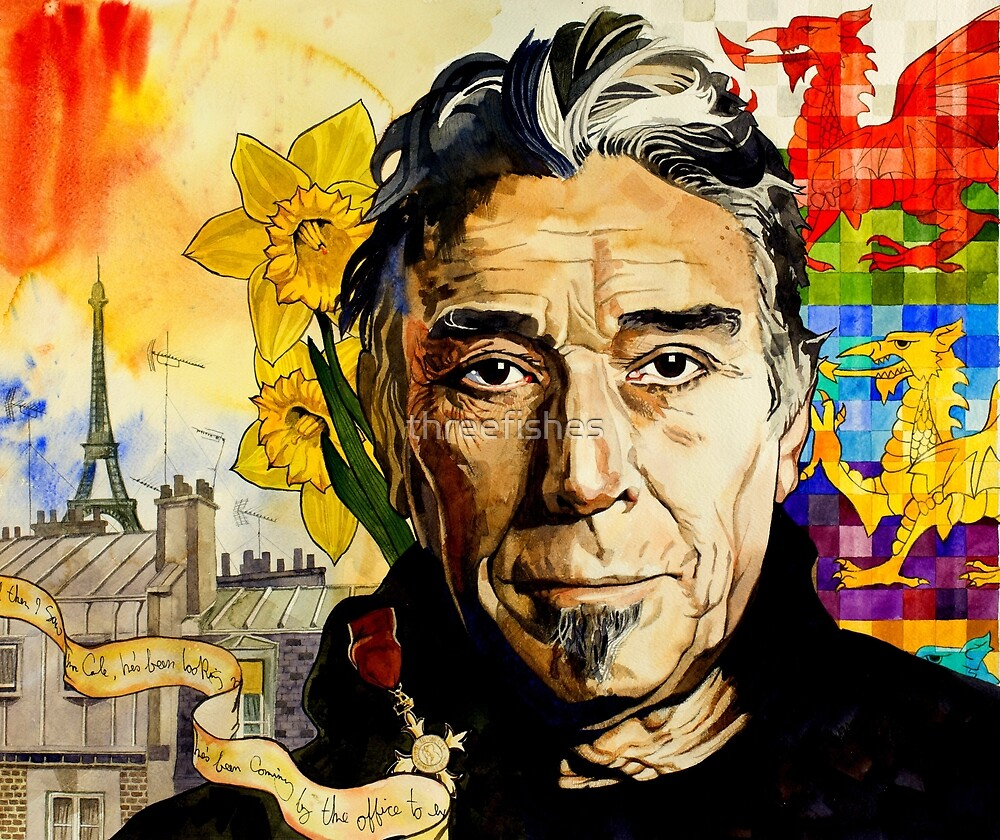 John Cale by threefishes