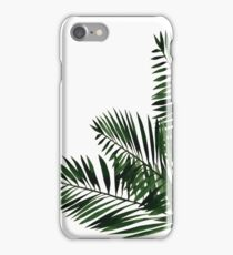 Tropical Exotic Palm Leaves on #Redbubble iPhone Case/Skin