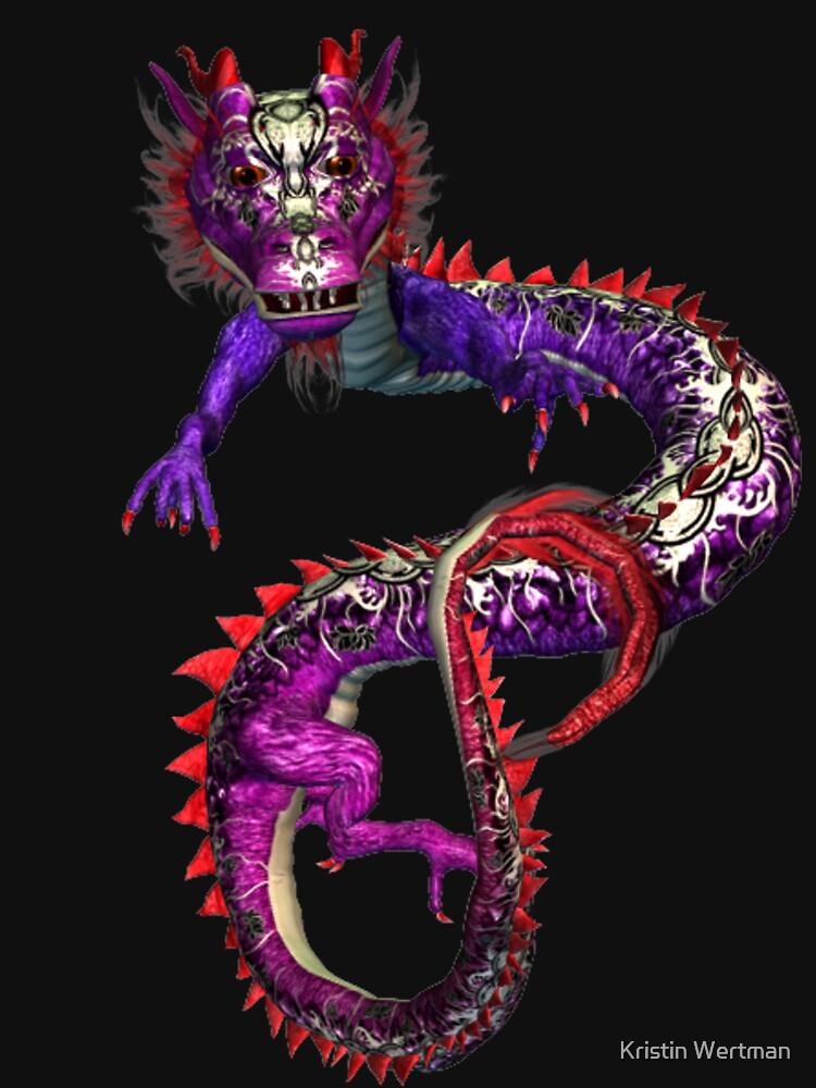 Purple Dragon Tee by mystical