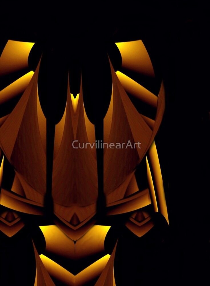 Curvilinear Project No. 29  ( The Royal Princess ) by CurvilinearArt